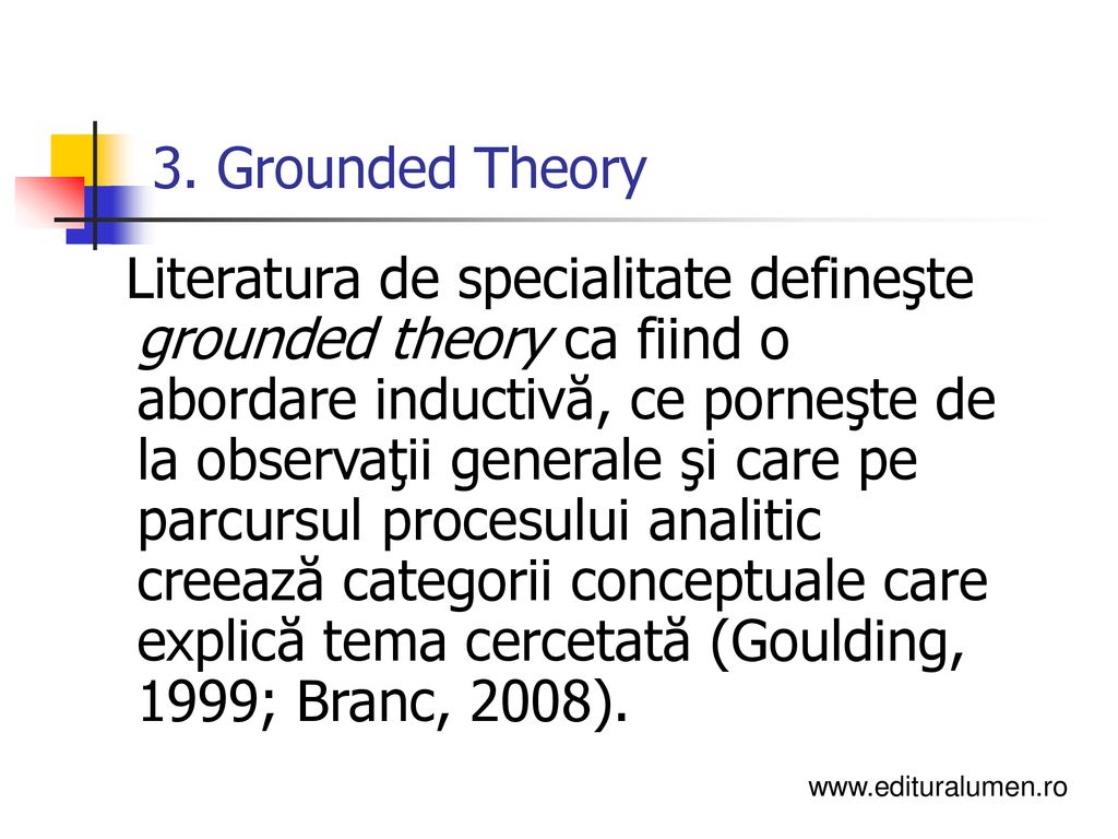 3. Grounded Theory